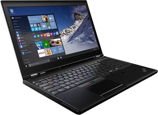 Lenovo Thinkpad P50 Core i7-6820HQ 2.7 GHz FHD W10P 32/512 SSD - Quadro M2000M 4G