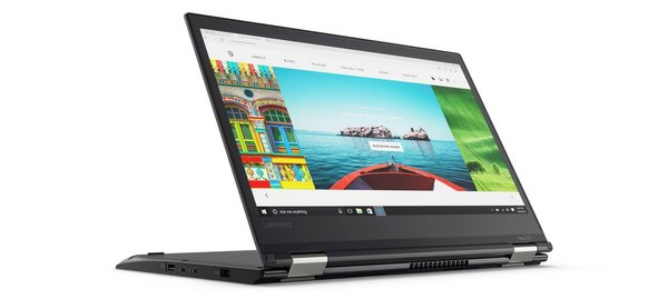 "2-in-1 Lenovo Yoga 370 Core i5-7300U 2.6 GHz FHD Touch 13.3"" 8/500 SSD 4G W10P"